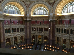 The beautiful Library of Congress