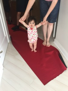 Queen Allie on the red carpet. darn paparazzi...