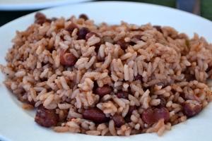 rice peas